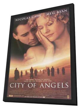 City of Angels - 11 x 17 Movie Poster - Style A - in Deluxe Wood Frame