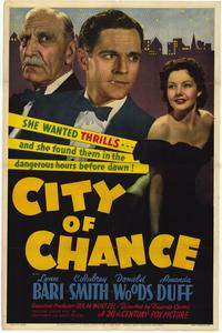 City of Chance - 27 x 40 Movie Poster - Style A