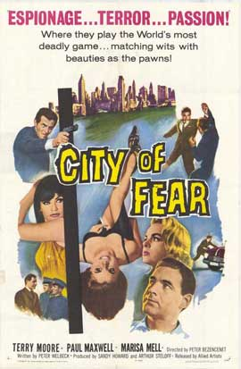 City of Fear - 11 x 17 Movie Poster - Style A