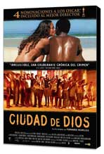 City of God - 27 x 40 Movie Poster - Spanish Style B - Museum Wrapped Canvas