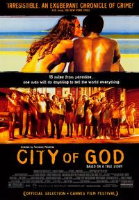 City of God - 43 x 62 Movie Poster - Bus Shelter Style A