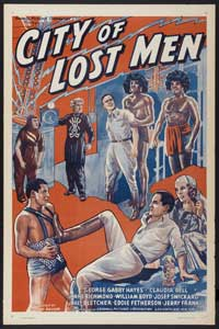 City of Lost Men - 43 x 62 Movie Poster - Bus Shelter Style A