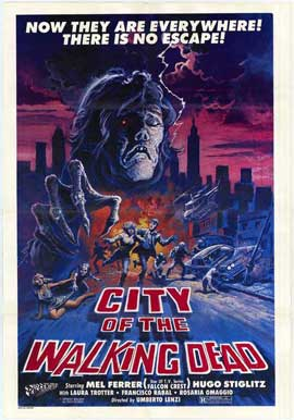 City of the Walking Dead - 27 x 40 Movie Poster - Style A