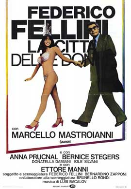 City of Women - 11 x 17 Movie Poster - Italian Style A