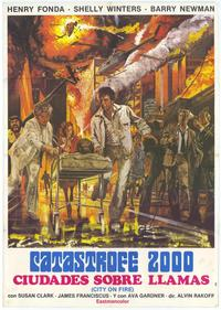 City on Fire - 27 x 40 Movie Poster - Spanish Style A