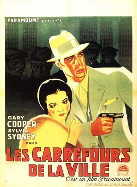 City Streets - 11 x 17 Movie Poster - Belgian Style A