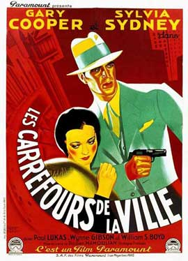 City Streets - 11 x 17 Movie Poster - French Style B