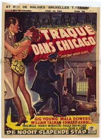 City that Never Sleeps - 11 x 17 Movie Poster - Belgian Style A