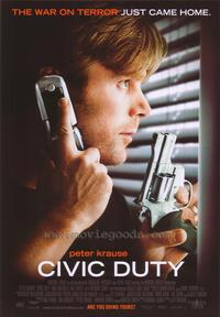 Civic Duty - 43 x 62 Movie Poster - Bus Shelter Style A
