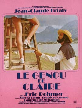 Claire's Knee - 11 x 17 Movie Poster - French Style A