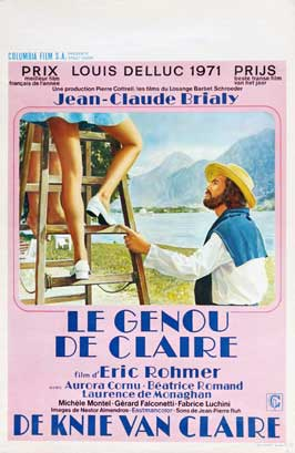 Claire's Knee - 11 x 17 Movie Poster - Belgian Style A