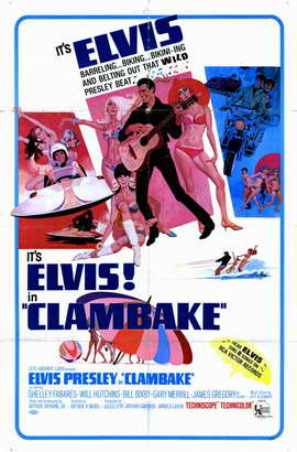 Clambake - 11 x 17 Movie Poster - Style A