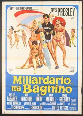 Clambake - 11 x 17 Movie Poster - Spanish Style B