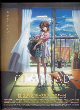 Clannad: After Story (TV) - 11 x 17 TV Poster - Japanese Style G