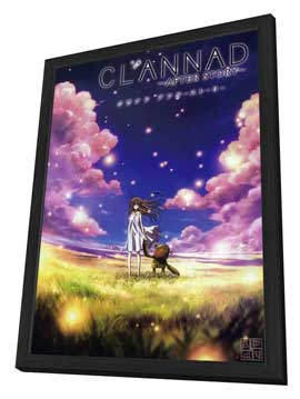 Clannad: After Story (TV) - 27 x 40 TV Poster - Japanese Style A - in Deluxe Wood Frame
