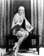 Clara Bow - Clara Bow Posed in Veil