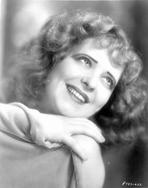 Clara Bow - Clara Bow Looking Up in Close Up Portrait
