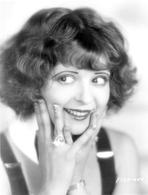 Clara Bow - Clara Bow Close Up Portrait with Diamond Ring