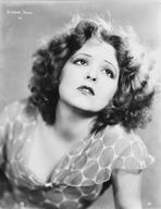 Clara Bow - Clara Bow Posed in Printed Blouse