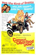 Clarence, the Cross-eyed Lion - 27 x 40 Movie Poster - Style A