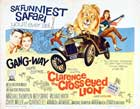 Clarence, the Cross-eyed Lion - 11 x 14 Movie Poster - Style A