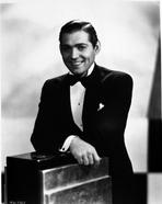 Clark Gable - Clark Gable In A Tux With Hair Parted Boxing Moments