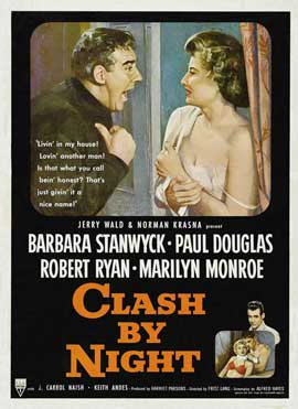 Clash by Night - 11 x 17 Movie Poster - Style B