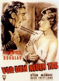 Clash by Night - 11 x 17 Movie Poster - German Style C