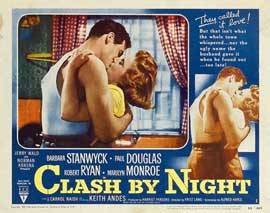 Clash by Night - 11 x 14 Movie Poster - Style A