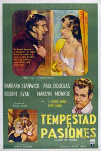 Clash by Night - 27 x 40 Movie Poster - Spanish Style A