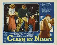Clash by Night - 11 x 14 Movie Poster - Style F