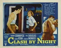 Clash by Night - 11 x 14 Movie Poster - Style G