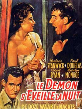 Clash by Night - 11 x 17 Movie Poster - French Style A