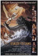 Clash of the Titans - 27 x 40 Movie Poster - Style B