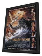 Clash of the Titans - 11 x 17 Movie Poster - Style A - in Deluxe Wood Frame
