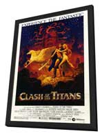 Clash of the Titans - 27 x 40 Movie Poster - Style A - in Deluxe Wood Frame
