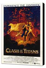 Clash of the Titans - 27 x 40 Movie Poster - Style A - Museum Wrapped Canvas