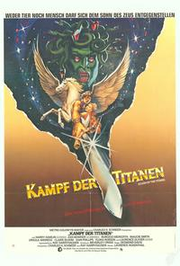 Clash of the Titans - 27 x 40 Movie Poster - German Style A