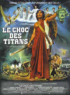 Clash of the Titans - 11 x 17 Movie Poster - French Style A