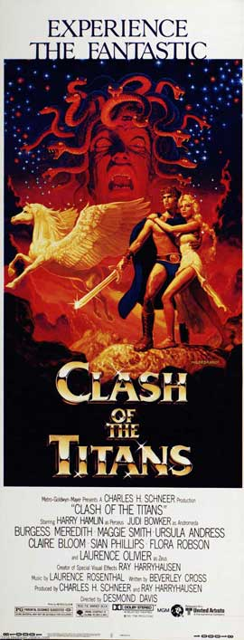 Clash of the Titans - 14 x 36 Movie Poster - Insert Style A