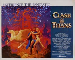 Clash of the Titans - 22 x 28 Movie Poster - Half Sheet Style B