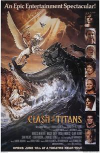 Clash of the Titans - 11 x 17 Movie Poster - Style A - Museum Wrapped Canvas
