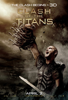 Clash of the Titans - 43 x 62 Movie Poster - Bus Shelter Style C
