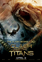 Clash of the Titans - 43 x 62 Movie Poster - Bus Shelter Style D