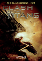 Clash of the Titans - 43 x 62 Movie Poster - Bus Shelter Style E