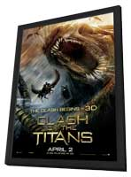 Clash of the Titans - 11 x 17 Movie Poster - Style G - in Deluxe Wood Frame
