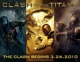 Clash of the Titans - 11 x 17 Movie Poster - Style A