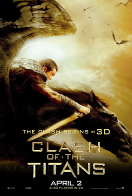 Clash of the Titans - 43 x 62 Movie Poster - Bus Shelter Style A
