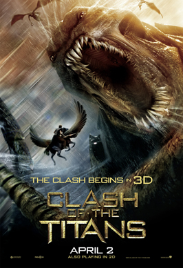 Clash of the Titans - 11 x 17 Movie Poster - Style G