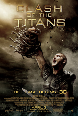 Clash of the Titans - 43 x 62 Movie Poster - Bus Shelter Style F